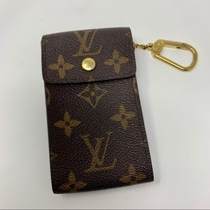 Vintage Louis Vuitton Pouch with Keyring